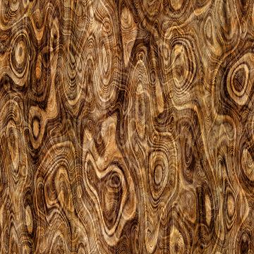Repeating burlwood pattern
