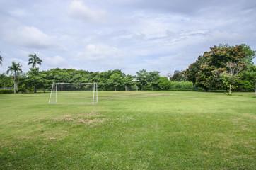 Field of Soccer sport