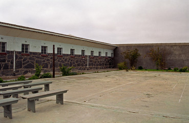 Maximum Security Prison, Robben island, South African Republic