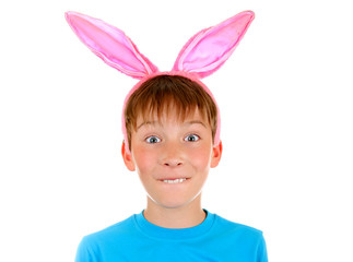 Kid with Rabbit Ears