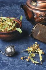 Foliage dried Linden tea