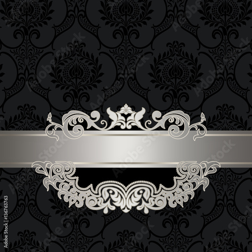 black and silver vintage background stock photo and royalty free rh fotolia com black and silver hair black and silver dress