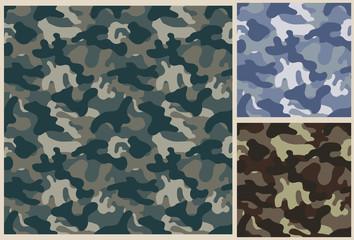 khaki vector pattern background, camouflage seamless texture