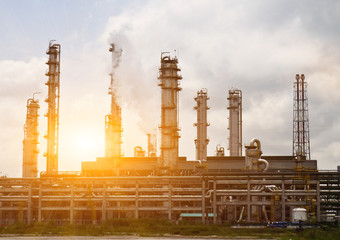 Oil and gas refinery, offshore