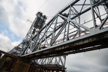 Under construction bridge