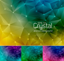 crystal abstract background 5