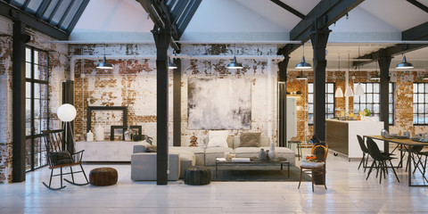 old vintage loft apartment - Altes Fabrik Loft