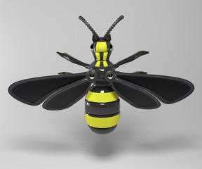 механическая пчела