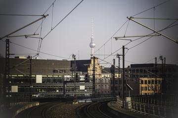 Bahnstrecke in Berlin