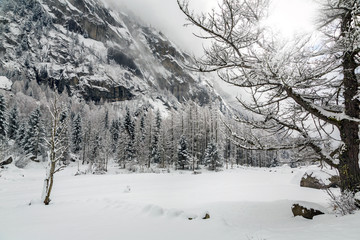 Val di Mello - Valtellina (IT) - Panorama invernale