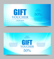 Gift company voucher template