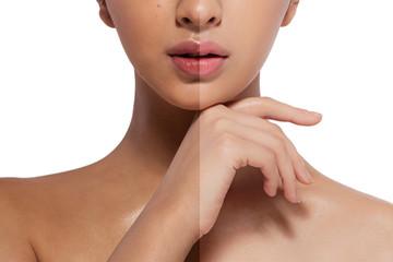 beauty asian skin healthy woman