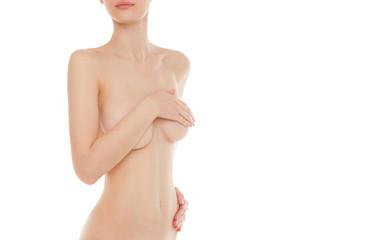 nude pretty woman body