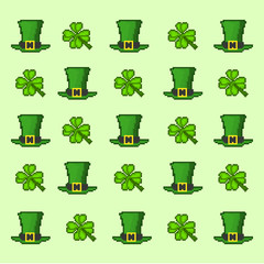 pattern Saint Patrick's Day