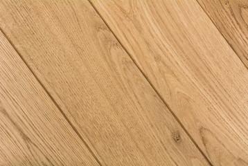 Oak hardwood flooring .