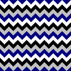 Chevron pattern seamless vector arrows geometric design colorful black white grey naval blue