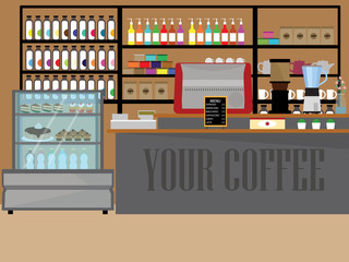 Design Coffee shop