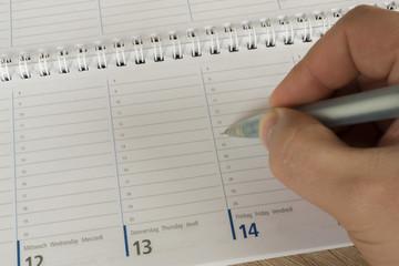 Termin eintragen im Kalender