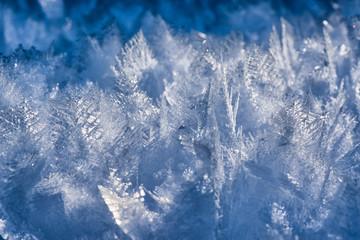 Natural ice crystals