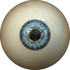 Illustration of a blue iris. Digital artwork creative graphic design.