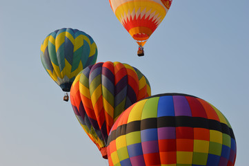 Up Up & Away in a Hot Air Balloon