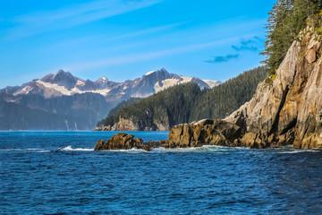 Coastal scenery, Kenai Fjords National Park, Alaska