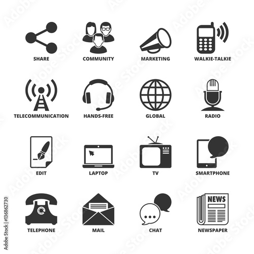 Communication Symbols Stock Image And Royalty Free Vector Files On