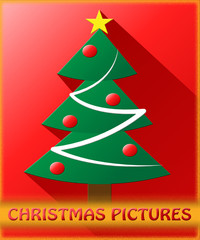 Christmas Pictures Shows Xmas Images 3d Illustration