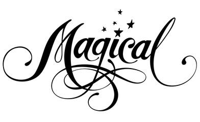 Magical Wall mural