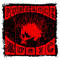 punk rock t-shirt design_2