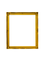Golden rectangle vintage frame