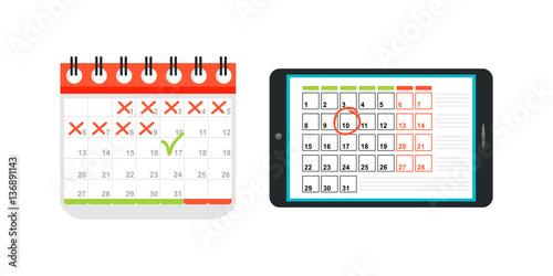 Calendar Illustration List : Quot agenda list calendar vector illustration stockfotos und