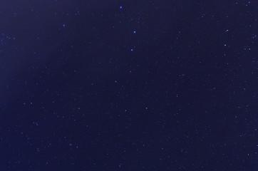 Ursa Major constellation in night sky