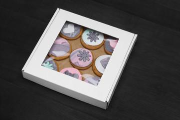 Premium cookies in a box