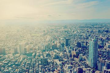 東京、新宿、俯瞰