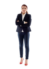 Senior latino businesswoman