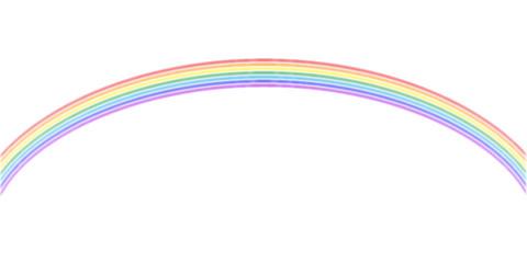 虹 カラフル 風景 背景