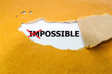 Impossible Concept, leadership, opportunity