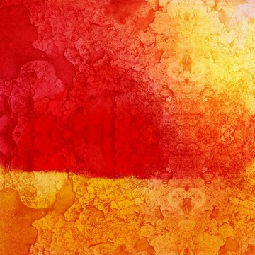 Red and Yellow Background Grunge
