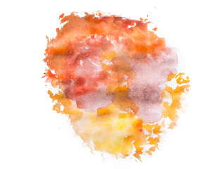 colorful watercolor splash