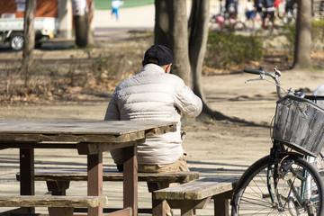 老人 男性 日本人
