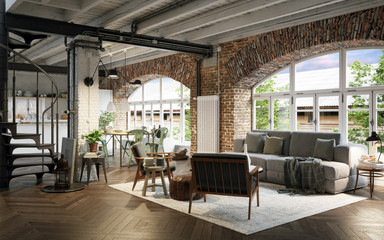 Renoviertes Industrie Loft - Old vintage industrial Loft Apartment