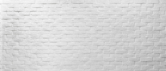 Abstract white texture brick on the wall, white brick pattern for mapping object 3D, Simple clean white background texture.