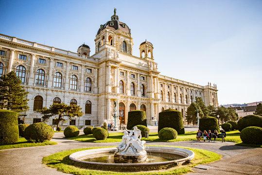 Kunsthistorisches Museum im Herbstlicht, Wien