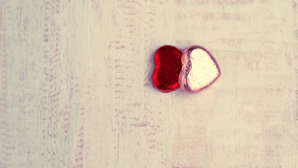 Valentines Day background , Abstract of Love , Love concept