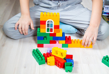 Child playing with constructor