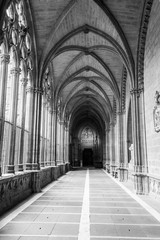 The closters are the most outstanding element of the the Cathedr