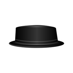 Isolated hipster hat