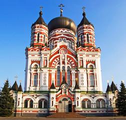 Orthodox cathedral in Feofaniya, Kyiv, Ukraine