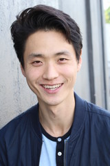 Asian man with a perfect white smile